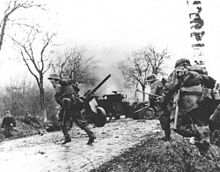 German troops advancing